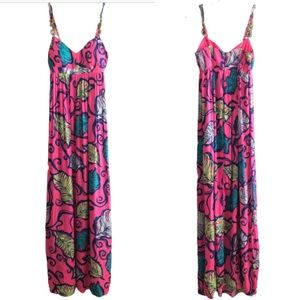 Lilly Pulitzer Leaves in the Breeze Joanna Maxi